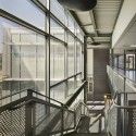 The Kensington Creative and Performing Arts High School /  SMP Architects and SRK Architects Main stair