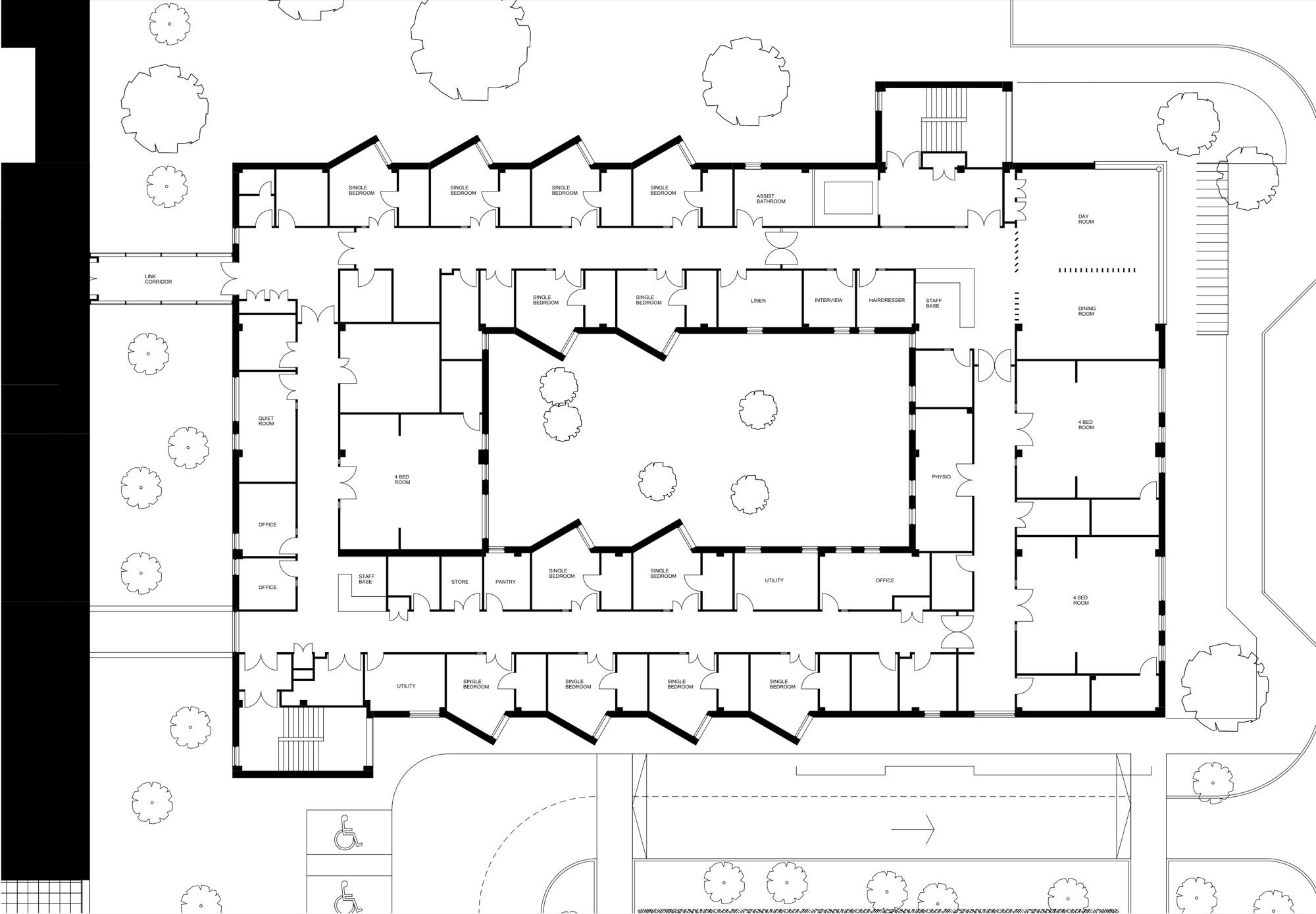 Vet Clinic Floor Plans Architecture Photography Floor Plan 188681
