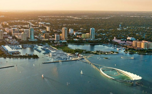 Update: The Lens wins the St. Petersburg Pier Competition