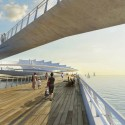St_Petersburg_Pier_Comp 007 Twin Bridge Path © Michael Maltzan Architecture