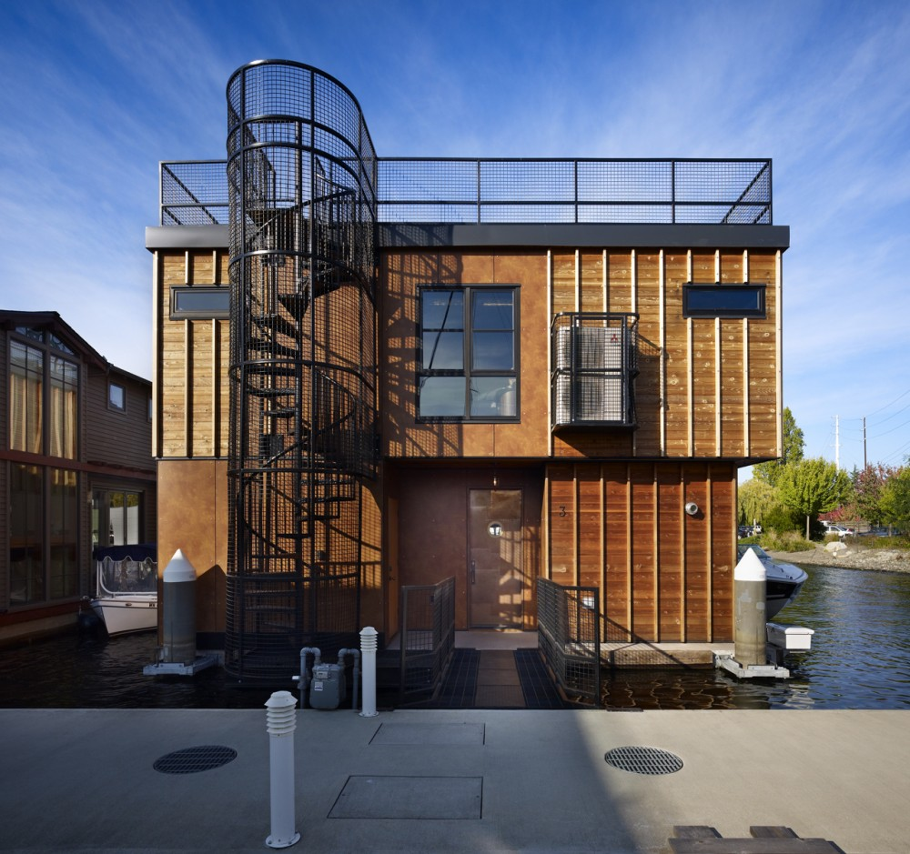 Float Home / Designs Northwest Architects