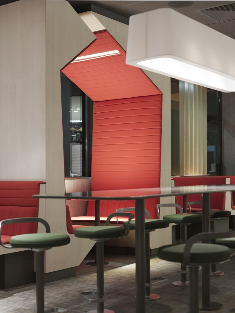McDonald&#8217;s Interiors in France / Patrick Norguet