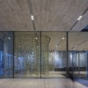 19 Reception area with curtain  OMA by Philippe Ruault Reception area with curtain  OMA by Philippe Ruault