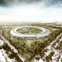 Foster + Partner Apple Campus 001 © Foster + Partners, ARUP, Kier + Wright, Apple