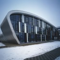 Educational Centre of the Medical Faculty of Charles University / DOMY © Filip Šlapal