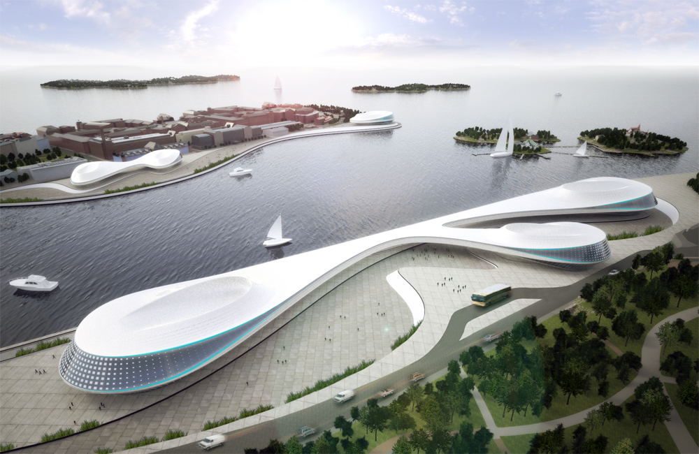 Helsinki South Harbor Proposal / Macyauski Research & Design