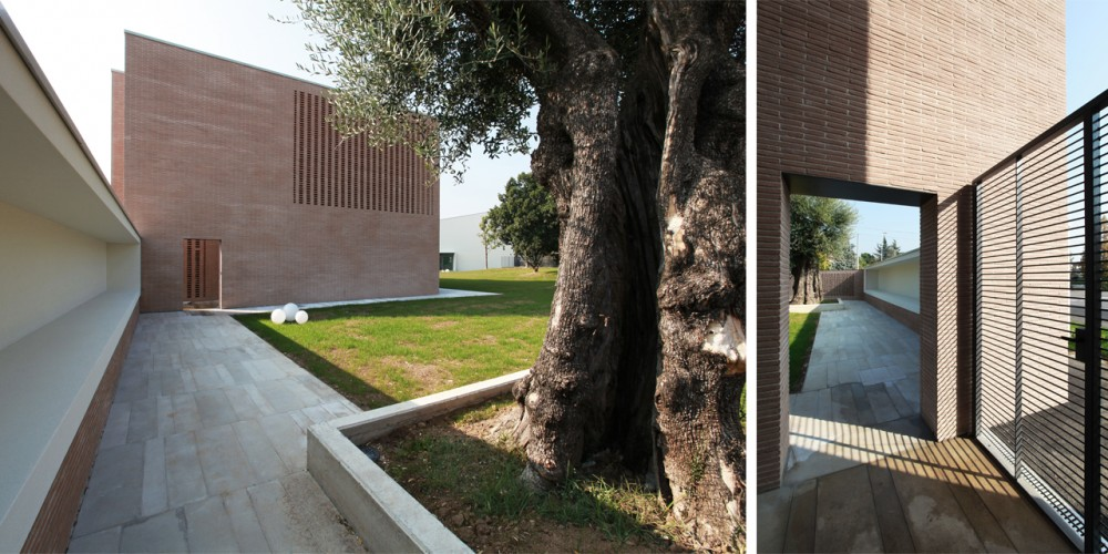 The Court Of The Trees / Tomas Ghisellini Architects