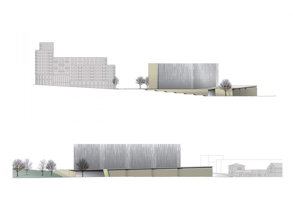 District Courthouse Proposal / Chyutin Architects