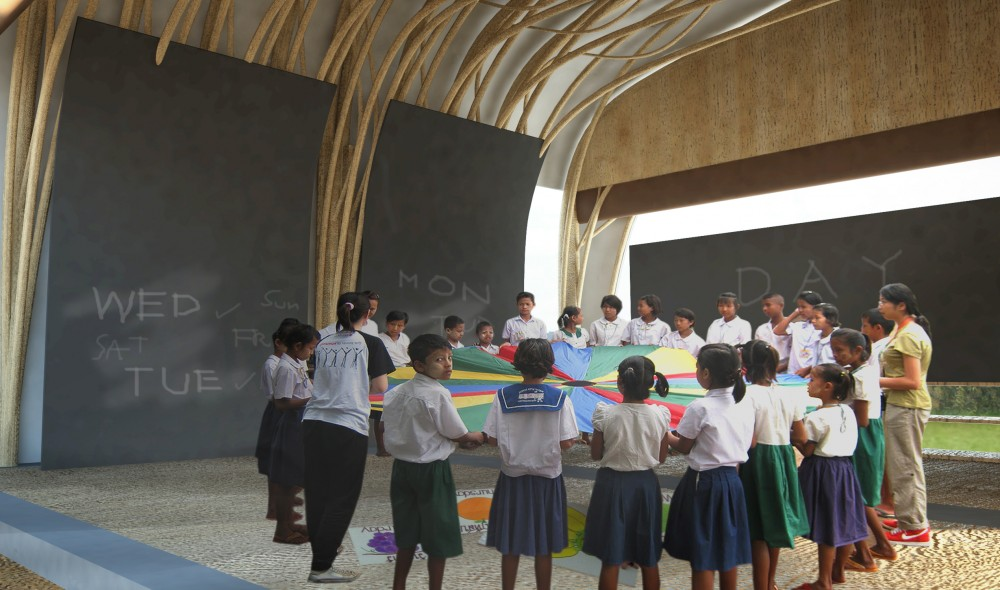 Burma School Competition Proposal / Site-Specific