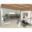 Wounded Warrior Home Project 007 Adaptable Suite / Office - Courtesy of IDEO