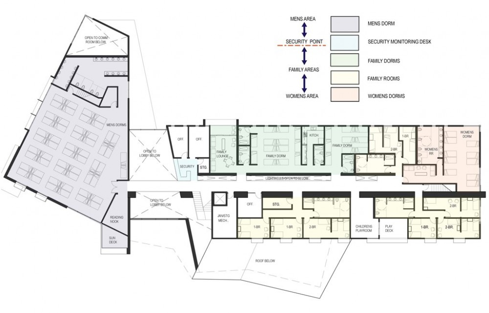 Architecture Photography: Design for Homeless Shelter in