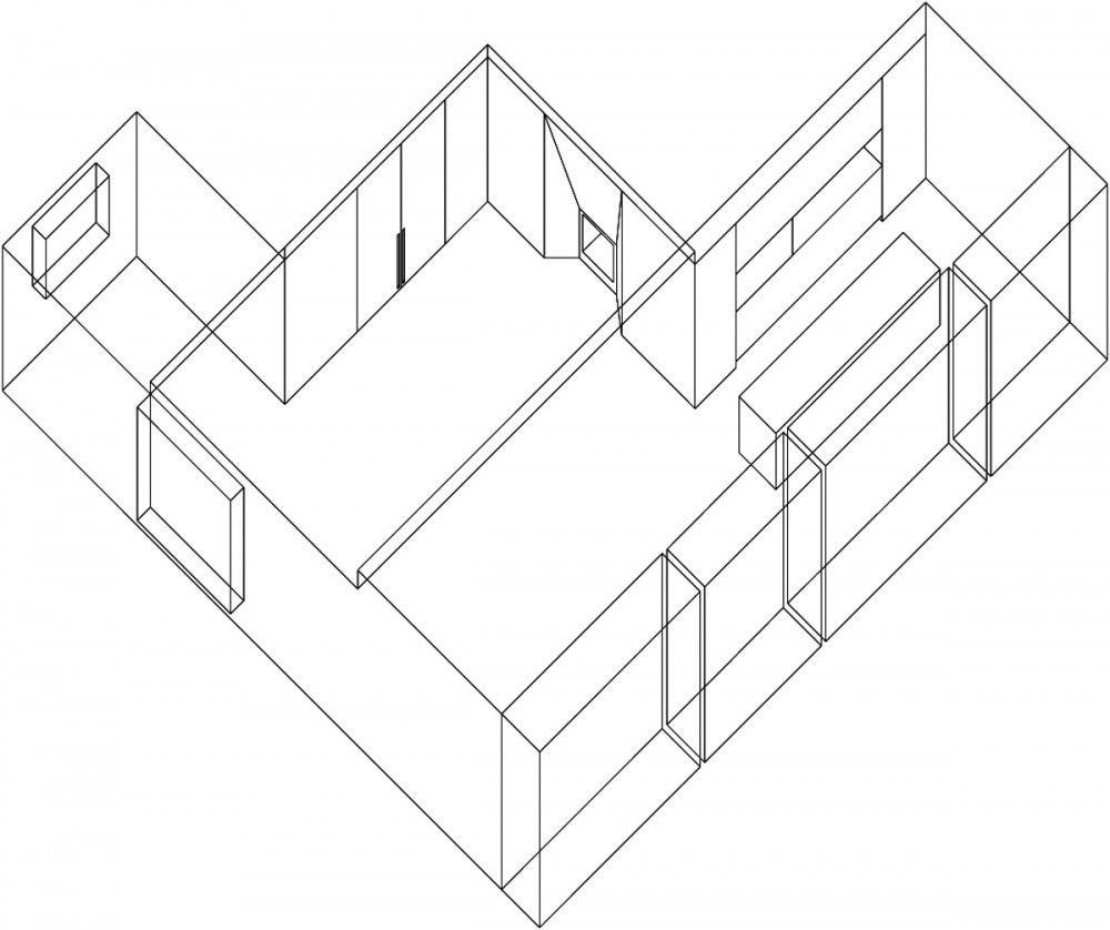Isometric House Drawings Isometric Drawing House