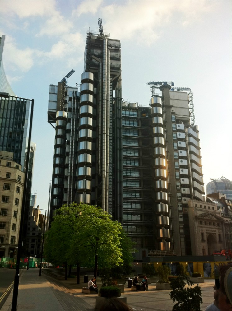 Lloyd's building joins Grade I Elite