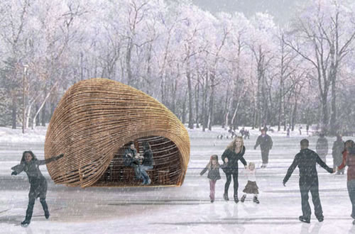 Warming Huts v.2012 Competition Winners