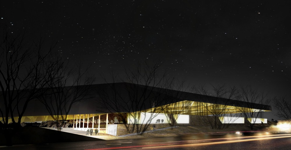 SMEC Soccer Complex Winning Proposal / Saucier + Perrotte & Hughes Condon Marler Architects
