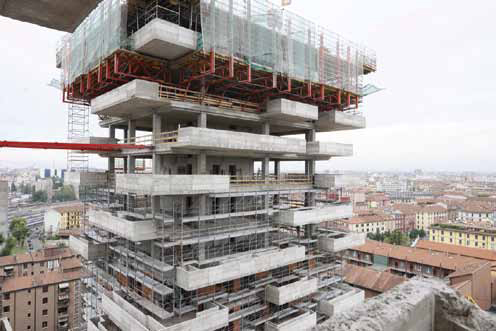 In Progress: Bosco Verticale / Boeri Studio