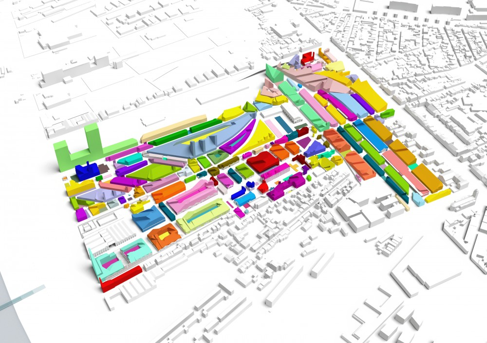 Master Plan for Bastide Niel / MVRDV