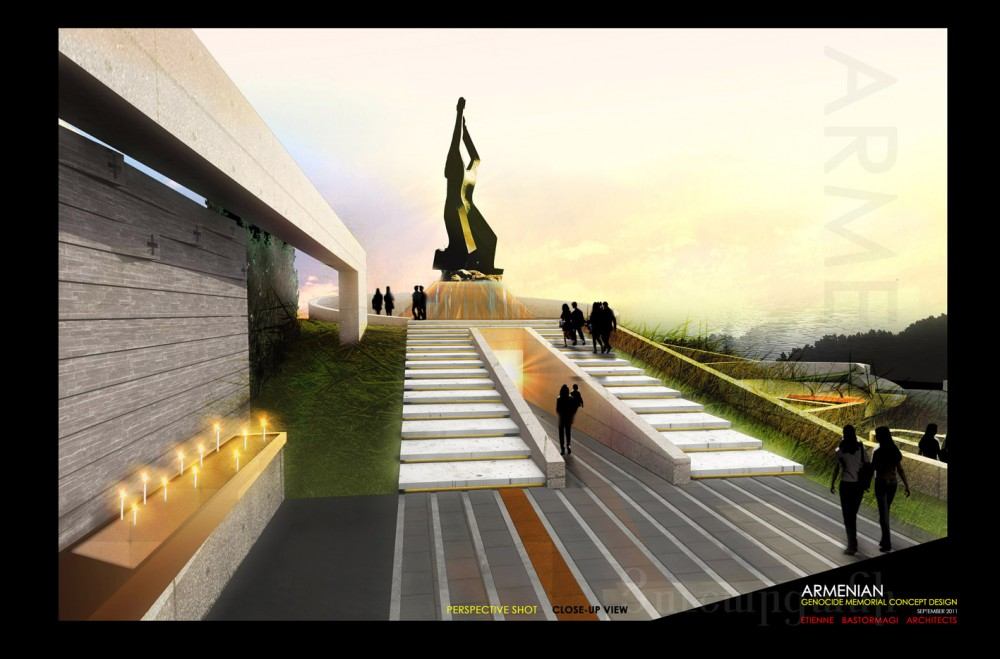 Armenian Genocide Memorial Winning Proposal / Etienne Bastormagi Architects