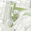 'Garden Ribbons' - A City Hall and Urban Park (3) site plan