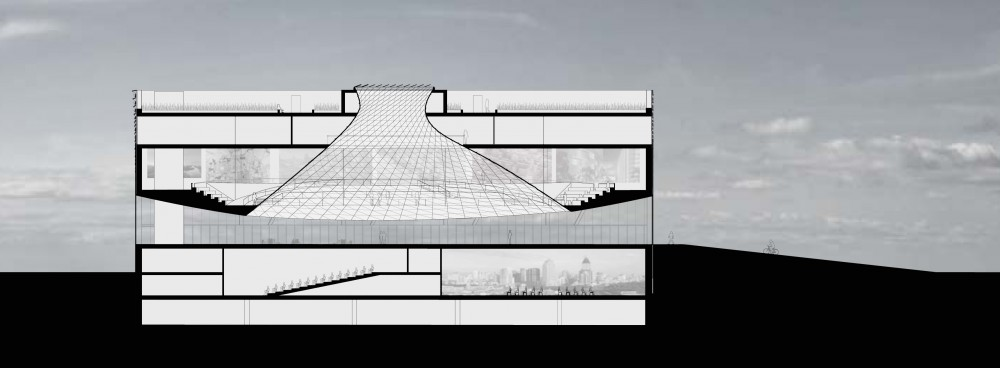 Changzhi Planning Exhibition Hall / Khoury Levit Fong