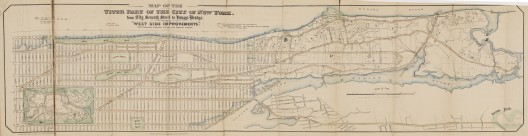 West Side Improvements, 1868; Courtesy of Museum of the City of New York, J. Clarence Davies Collection, 29.100.2723