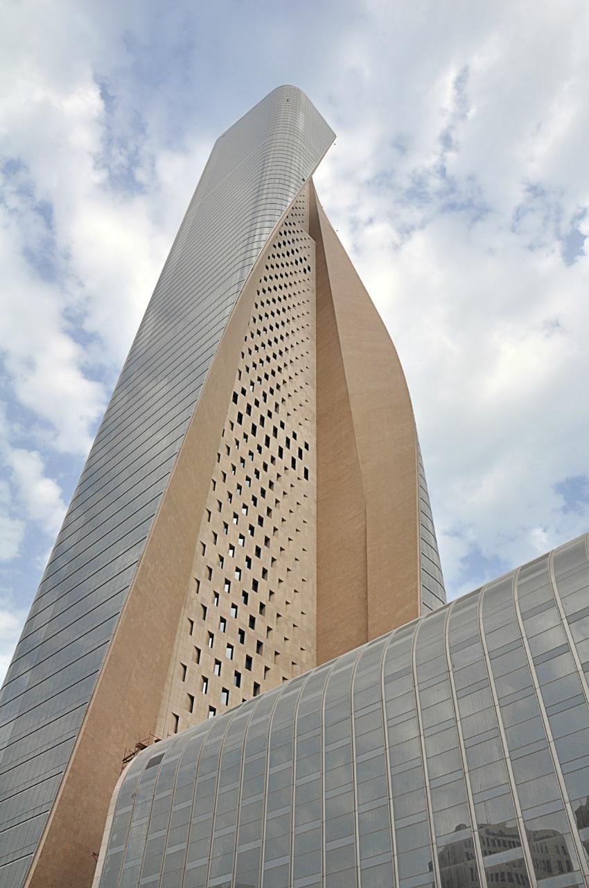 Al Hamra Firdous Tower Som Archdaily