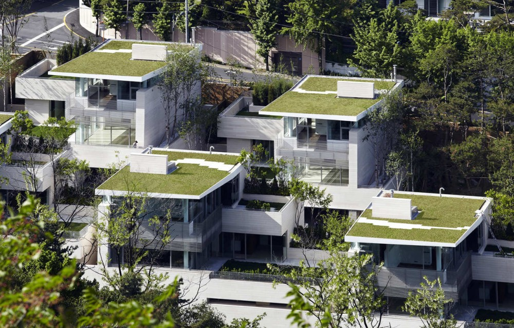 Seongbuk Gate Hills / Joel Sanders Architect and Haeahn Architecture