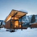 Rolling Huts / Olson Sundberg Kundig Allen Architects Photo by Tom Bies | Courtesy of OSKA Architects
