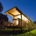 Rolling Huts / Olson Sundberg Kundig Allen Architects Photo by Chad Kirkpatrick | Courtesy of OSKA Architects