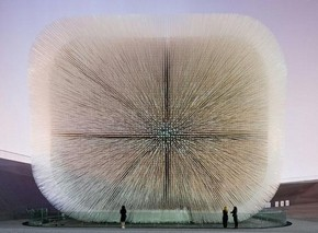 UK Pavilion, Seed Cathedral. Shanghai Expo, China, 2010 © Iwan Baan