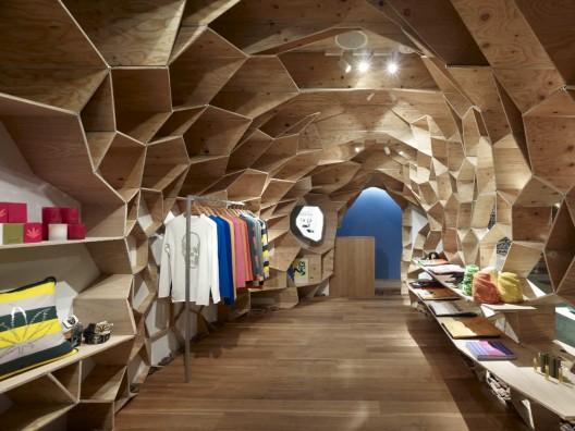 طراحی داخلی فروشگاه ، دکوراسیون مغازه ، طراحی داخلی بوتیک ، کنگو کوما ،طراحی دکور