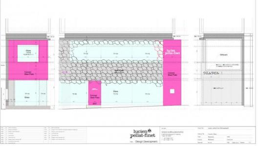 پلان ، پلان فروشگاه ،طراح داخلی تجاری