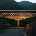 Yusuhara Wooden Bridge Museum / Kengo Kuma & Associates © Takumi Ota Photography