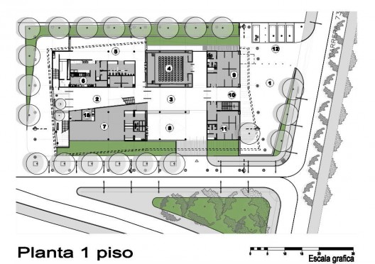 belen police station edu archdaily floor plan of police station friv5games me