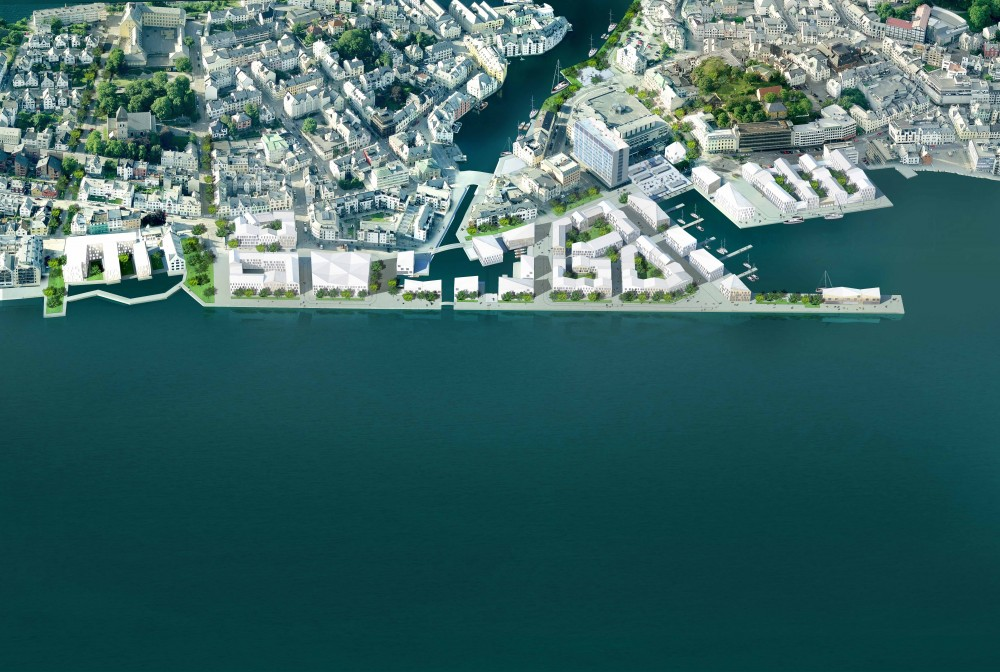 &#8216;Sundbyen&#8217; Harbor Front Proposal / JAJA Architects