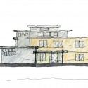 front elevation sketch front elevation sketch
