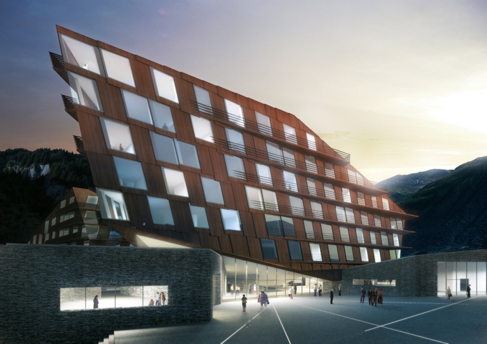 Resort Hotel / Holzer Kobler Architekturen