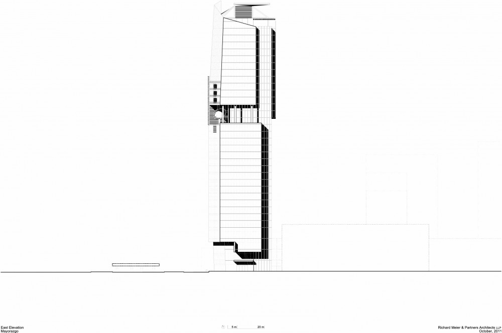 Mitikah Office Tower / Richard Meier & Partners Architects