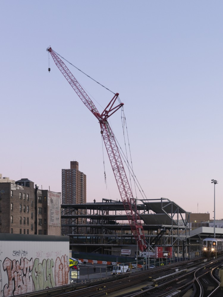 In Progress: Steven Holl Architects' Campbell Sports Center Tops Out