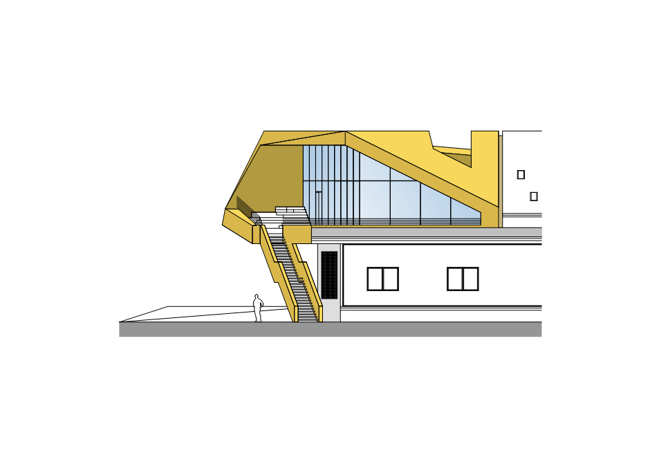 Hans Klotz / monovolume architecture + design elevation 04 ...