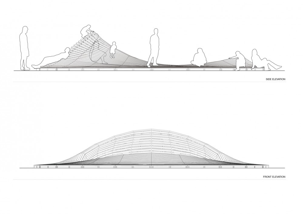 'Crater Lake' Installation (14) elevations