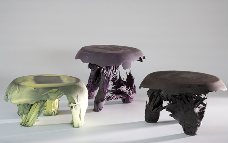The Gravity Stool by Jlan van der Wiel, magnetic innovation