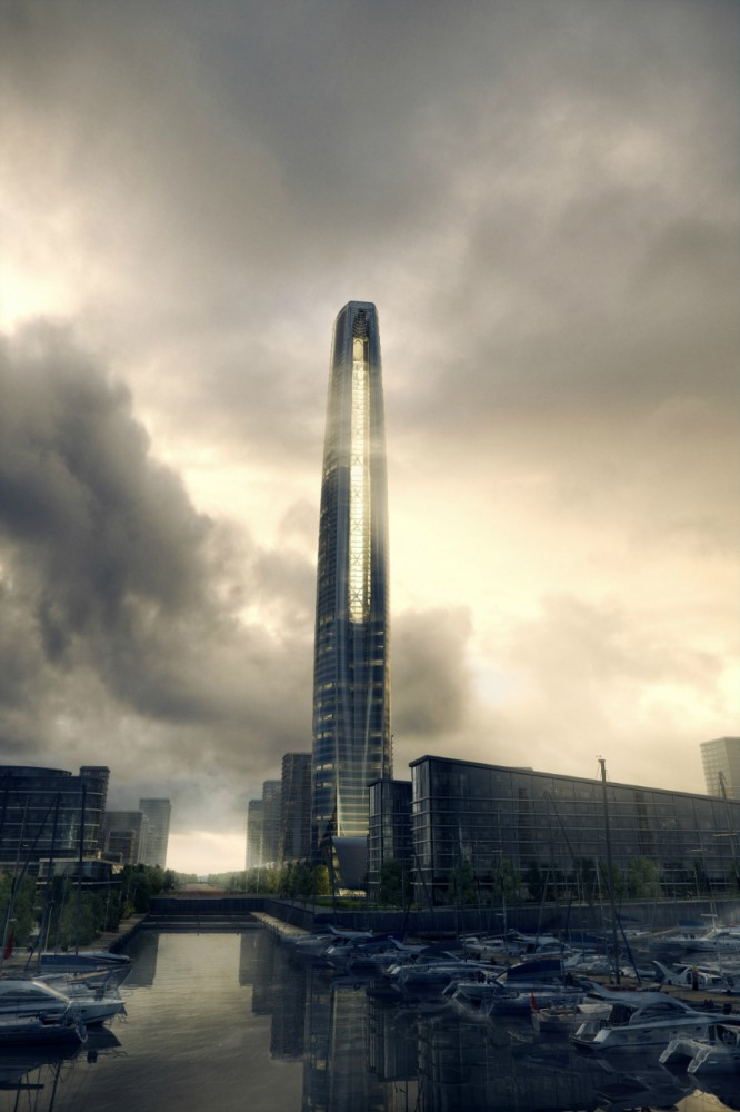 SOM Chicago wins competition to design the Wujiang Greenland Tower
