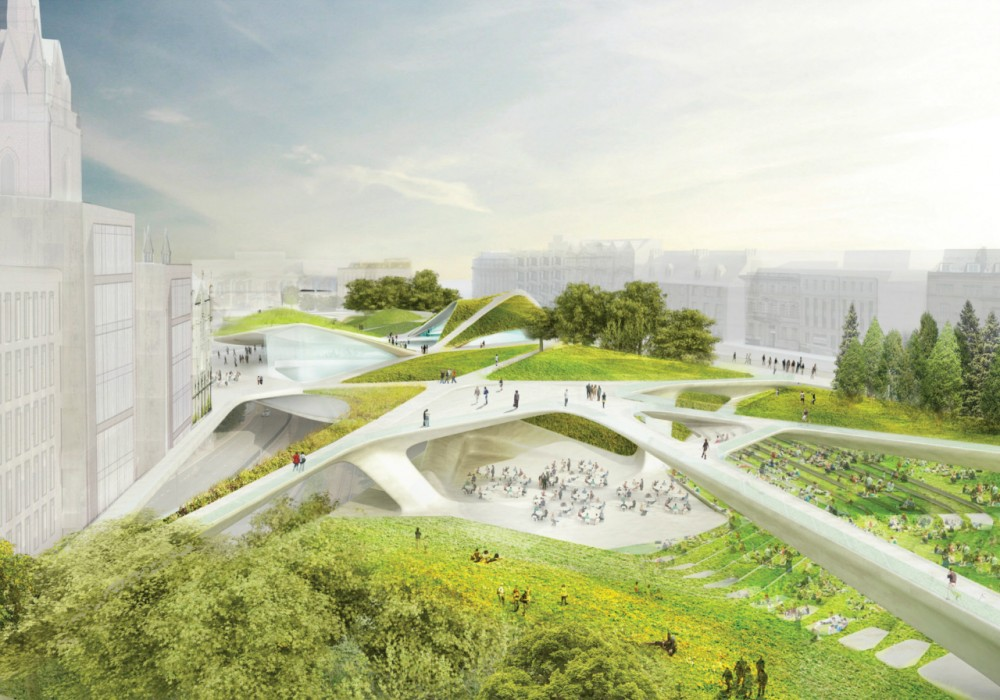 Diller Scofidio + Renfro selected to transform the center of Aberdeen