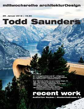 Todd Saunders Lecture at the Academy of Fine Arts in Munich