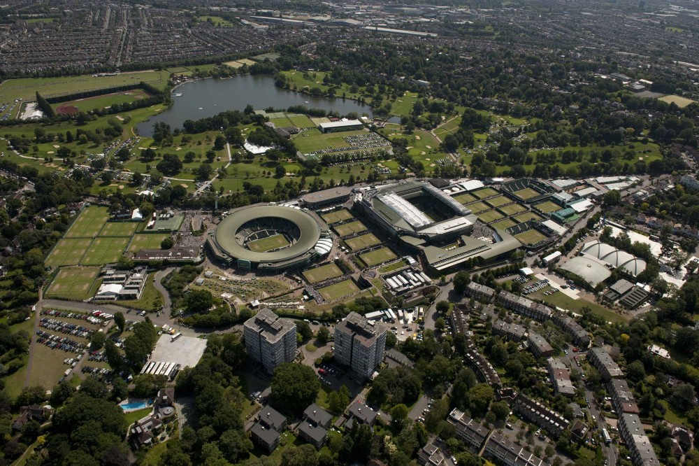 Wimbledon 2020 Masterplan / Grimshaw Architects