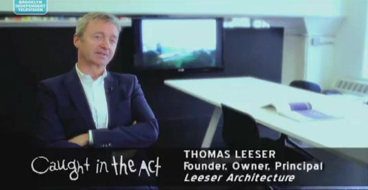 Video: Caught in the Act / LEESER Architecture