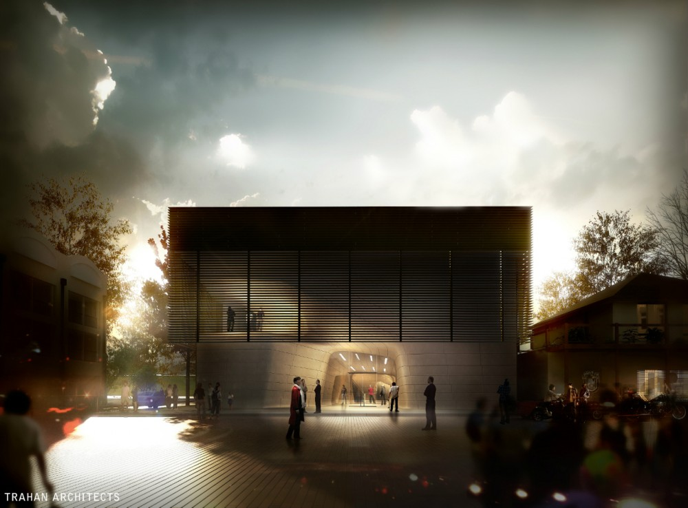 In Progress: Louisiana State Museum and Sports Hall of Fame / Trahan Architects