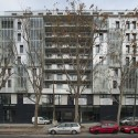 Social Housing In Paris / Dietmar Feichtinger Architectes  (28) © Dietmar Feichtinger Architectes