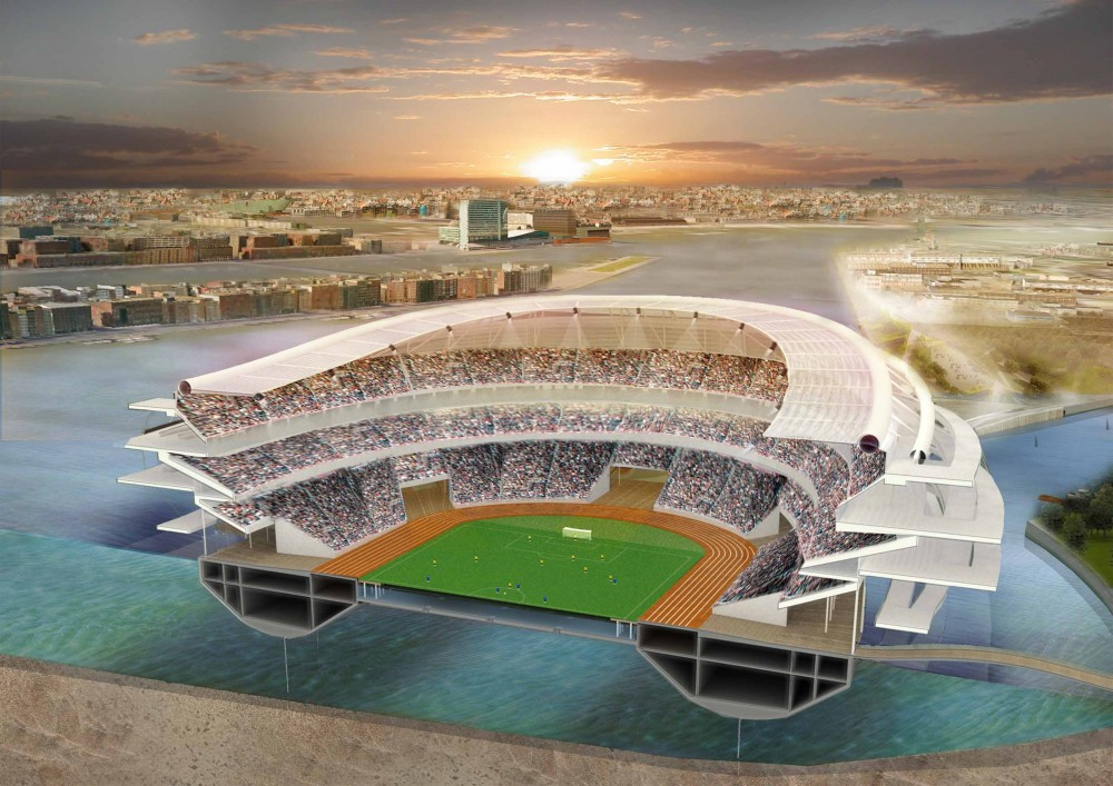 Bike The Floating Stadium / Quentin Perchet & Gabriel Scerri